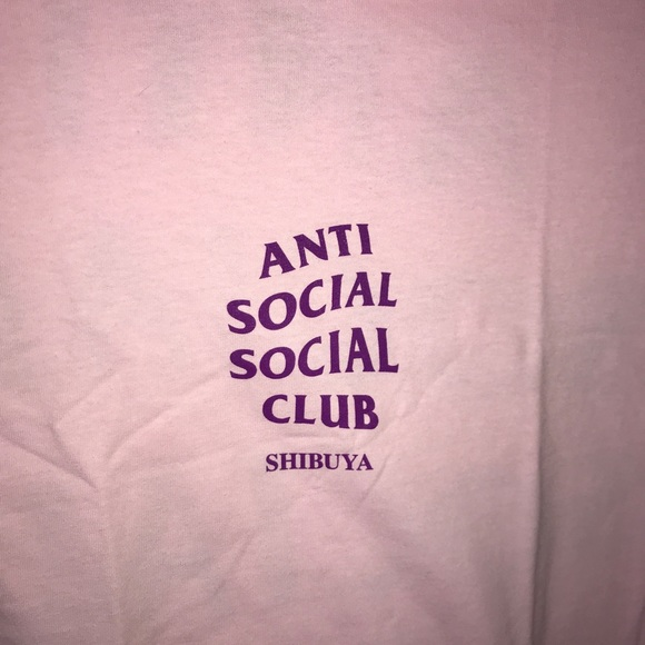 bb2d9725163e Anti Social Social Club Other - Anti Social Social Club Shibuya tee
